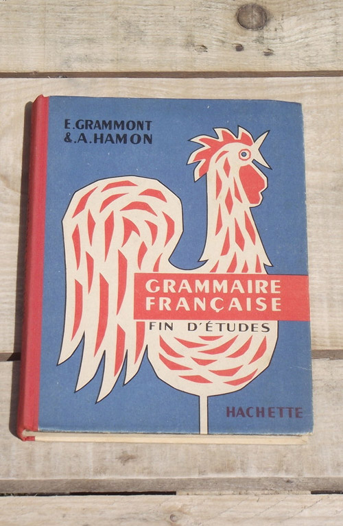 vintage French school book