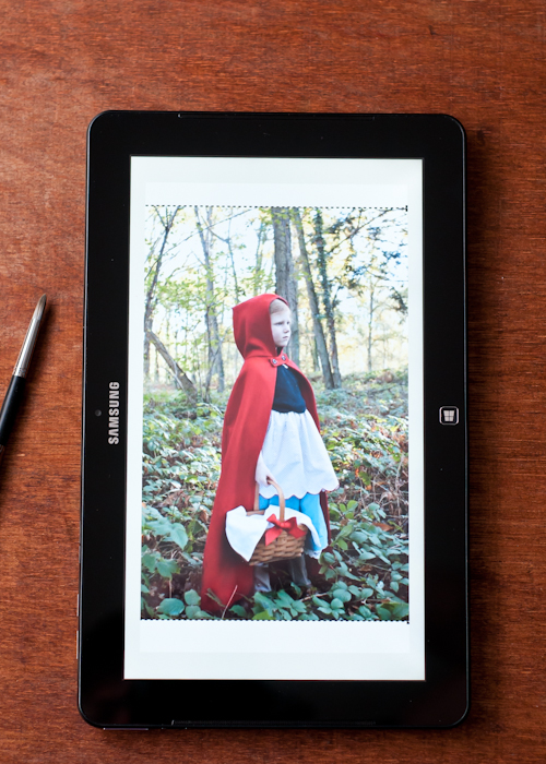 fresh-paint-app-betty-red-riding-hood