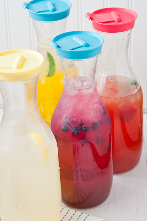 How to Make Flavored Lemonade  |  Design Mom