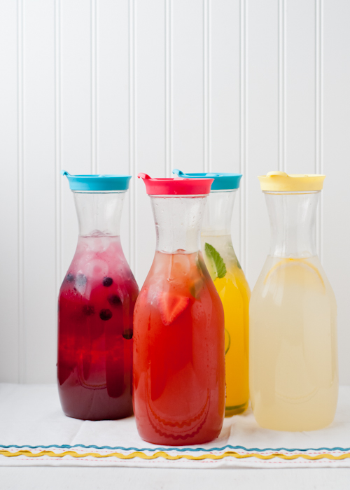 Lemonade 101. Everything you need to know to make classic or flavored lemonades.  |  Design Mom