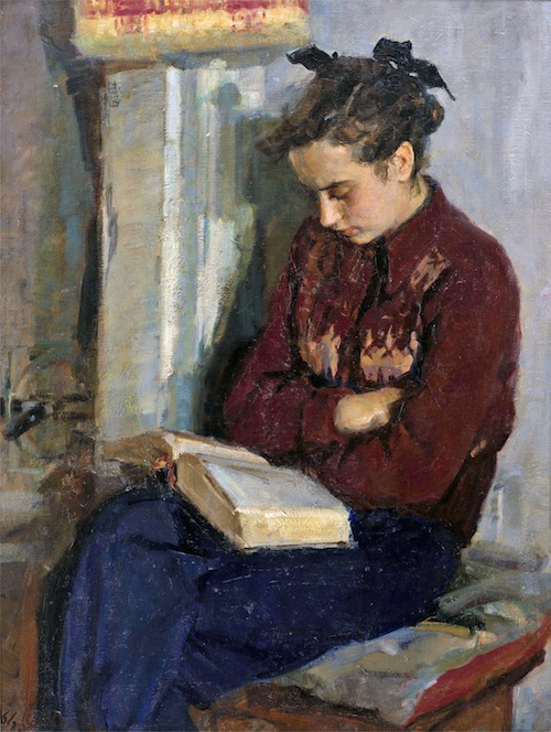 Fellow Readers favorite paintings of women reading  The