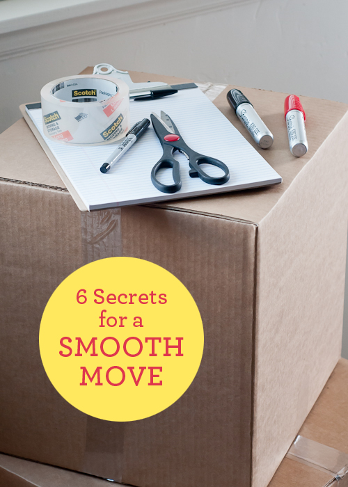 6 Secret to a Smooth Move  |  Design Mom