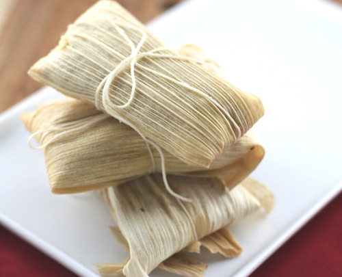 Tamales are an easy dinner and so delicious!