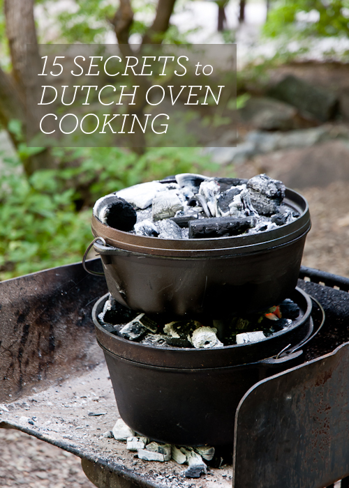 15 Secrets to Dutch Oven Cooking  |  Design Mom