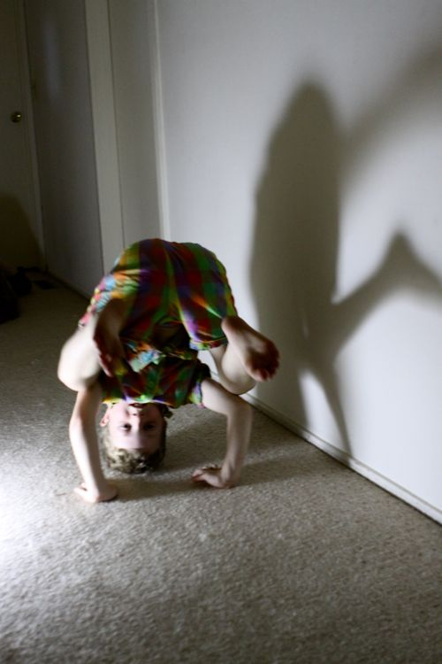 flashlight shadow dancing