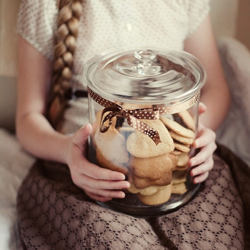 do you keep a cookie jar on your counter?