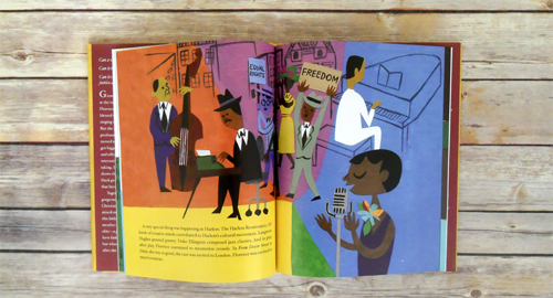 Harlem's Little Blackbird by Renee Watson and Christian Robinson