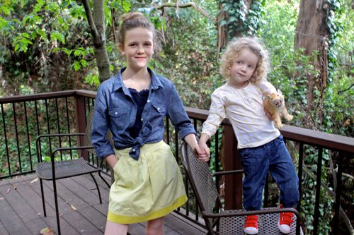 What to Wear to Middle School and Pre-School  |  Design Mom