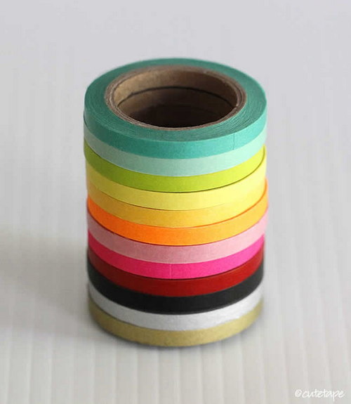 Washi from Cute Tape - Hundreds of styles, patterns and colors.