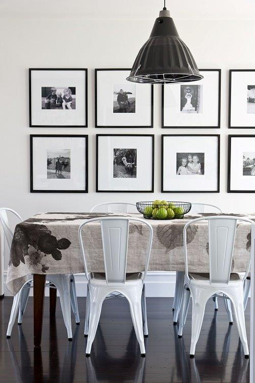 Artwork layouts on pinterest hanging artwork houzz and for Framed pictures for dining room