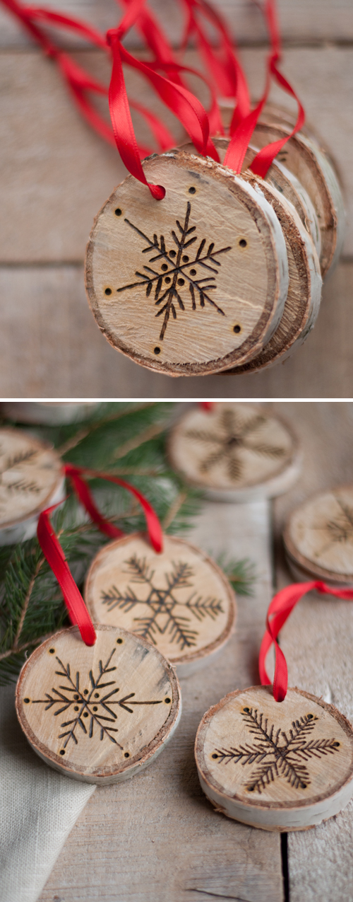 Etched Snowflake Ornaments | Stunning Homemade Christmas Ornaments You Can DIY On A Budget