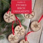 Etched Birch Ornaments TITLE