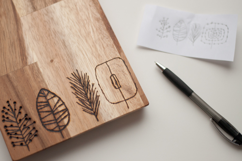 The Perfect Gift: Etched Cutting Boards