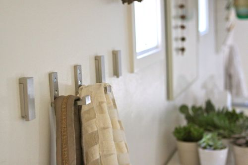 Disappearing Wall Hooks