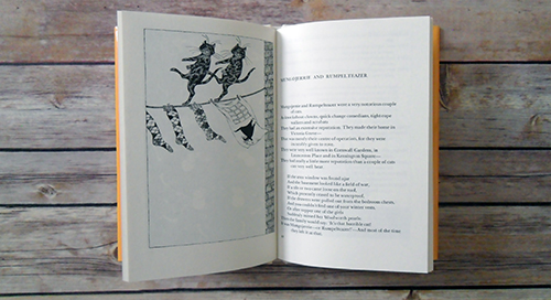 Old Possum's Book of Practical Cats by T.S. Eliot and Edward Gorey