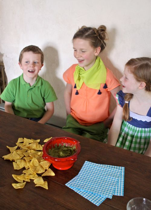 Guacamole. A kid-friendly, and happy little recipe video by Olive Us.