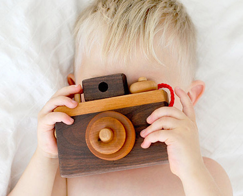 Wooden Camera from Brimful Toy Shop