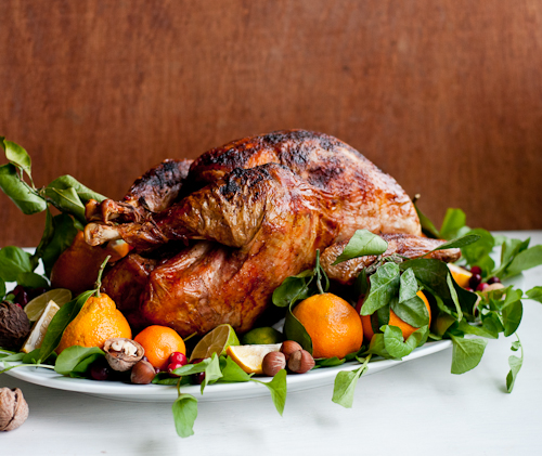 How to Garnish a Turkey | Design ... & 9 Secrets To Garnishing a Turkey Platter ? Design Mom