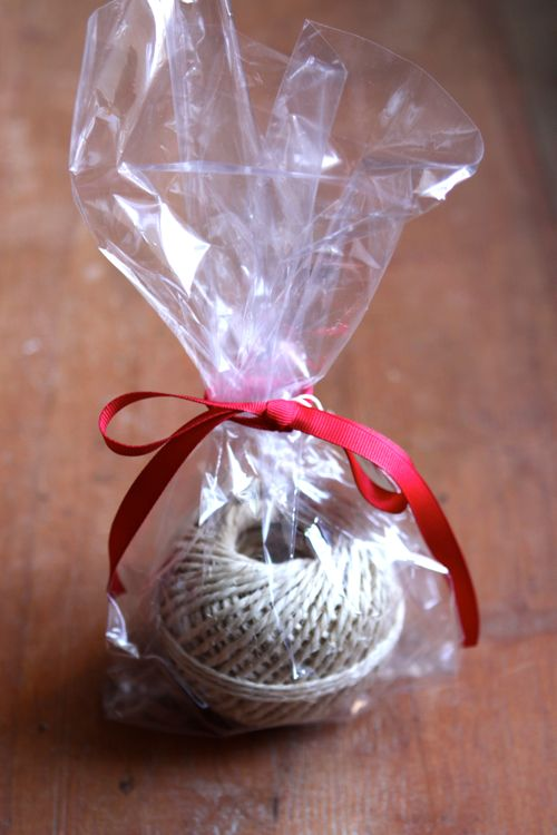 Twine as a gift. (Click through for 9 last-minute hostess gifts - find them at any grocery store on your way to the party!)