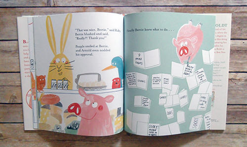You're a Rude Pig, Bertie by Claudia Boldt