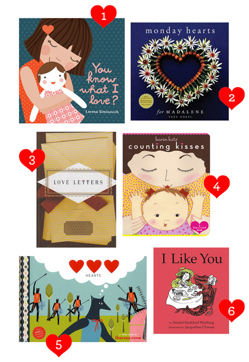 6 Books for Valentine's Day   |   Design Mom
