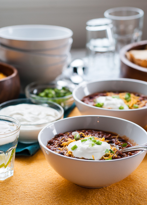 Slow Cooker Recipe: Three Bean Chili Deluxe. This recipe has won chili ...