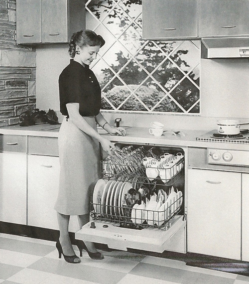 vintage dishwasher image