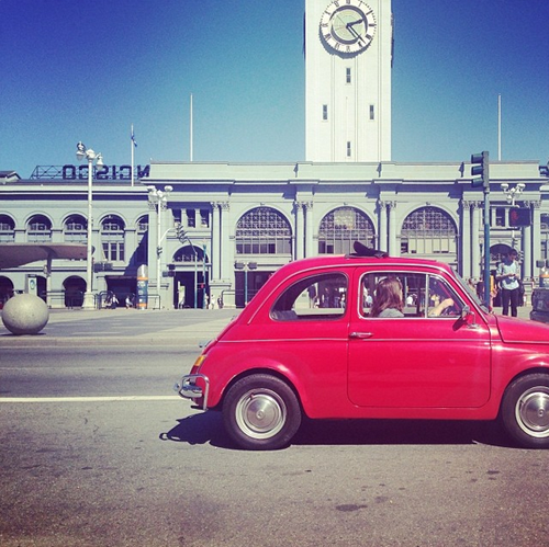 ferry building and fiat