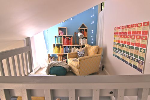 Turn a small, unused space into an inviting Reading Nook       Design Mom