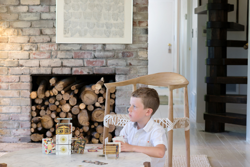 The Treehouse Living Room  |  Design Mom