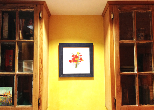 Minted Art in Homes