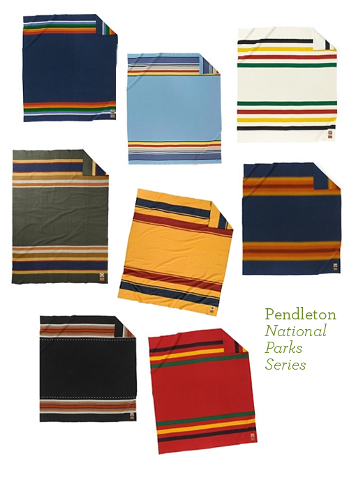Pendleton Wool Blankets National Parks Series