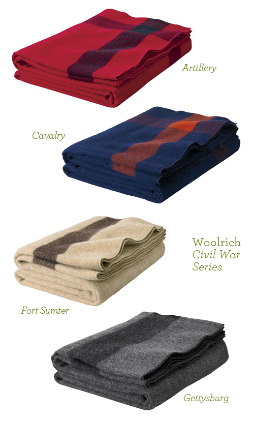 Woolrich Civil War Series Wool Blankets