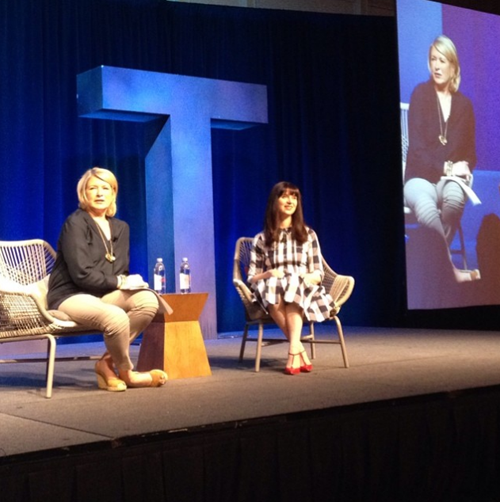 Martha Stewart at Alt Summit