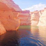 Antelope Canyon at Lake Powell