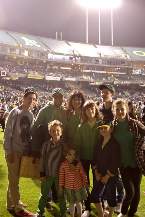 A's Game plus Fireworks31