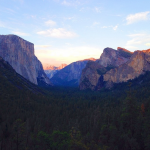 Yosemite Summer Sunset
