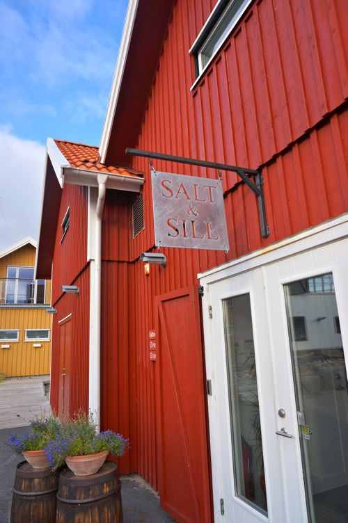 Salt & Sill Hotel and Restaurant in West Sweden. Floating hotel rooms!