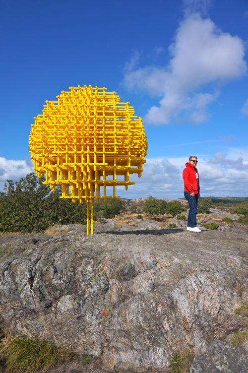 Pilane Sculpture Garden - Four Days in West Sweden