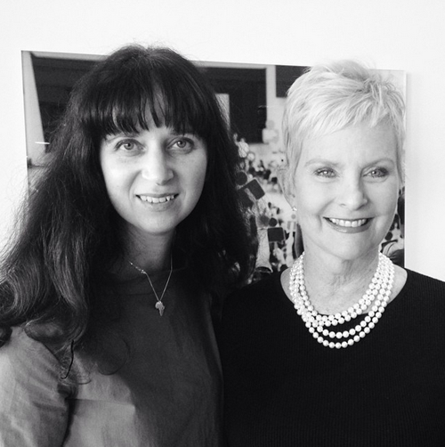 Gabrielle Blair and Cindy McCain