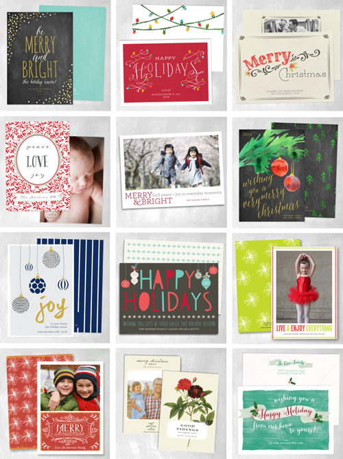Smitten on Paper Holiday Cards 2014