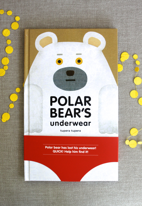 Polar Bear's Underwear - a cute book with a surprise ending!