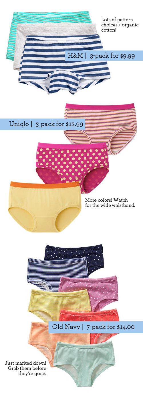 cf1e95eaf2c1 Best Girls Underwear 2015 - Best Kids Underwear featured by popular  lifestyle blogger, Design Mom