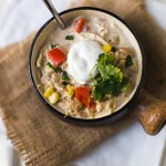 White Chicken Chili for the Slow Cooker | Design Mom