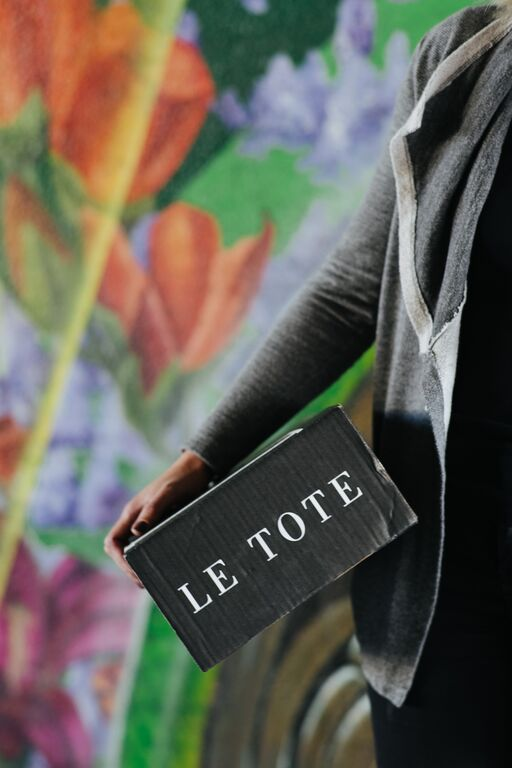 Le Tote clothes rental service. $49 per month and you can get a new box of clothes as often as you like!