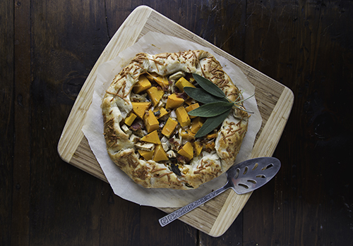 Recipe: Savory Butternut Squash Galette ⋆ Design Mom