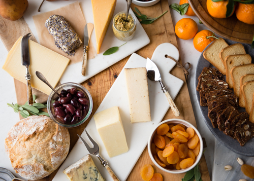 Cheese Platter for New Year's Eve