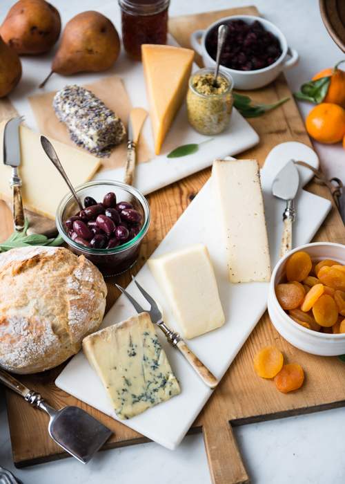 New Year's Eve Cheese Board