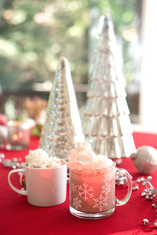 How to host a Hot Cocoa Bar. 4 Tips! - Way easier than a dinner party, you'll want to host a dozen of these this month!