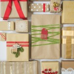 Have a plain brown paper package? Here's a few ideas how to dress it up!   Design Mom
